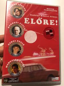 Előre! DVD 2002 Forward! - Magyar filmvígjáték / Directed by Erdélyi Dániel / Starring: Gáspár Sándor, Bodrogi Gyula, Garas Dezső, Marozsán Erika / Hungarian comedy (5999883601068)