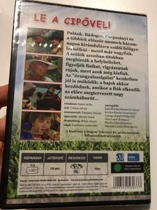 Le a cipővel! DVD 1975 Hungarian TV Series / Directed by Szabó Attila / Starring: Káló Flórián, Kovács Károly, Gyenge Árpád, Soós Lajos / A teljes sorozat DVD lemezen (5999552560337)