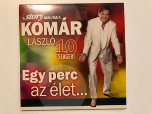 A Story Bemutatja: Komár László 10 Slager! - Egy Perc Az Élet... / Hungaroton Audio CD 2012 / HCD 71272