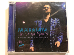Jambalaya - Live At The Merlin - Wonder What Can Happen / NarRator Records Audio CD + DVD CD 2008 / NRR060