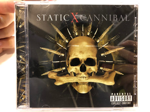Static-X – Cannibal / Reprise Records Audio CD 2007 / 9362-49992-4