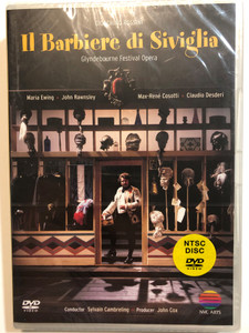 Il Barbiere di Siviglia DVD Glyndebourne Festival Opera / Conducted by Sylvain Cambreling / Directed for video by Dave Heather / NVC Arts (0745099922320)
