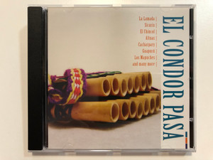 El Condor Pasa - La Lamada, Sicuris, El Chincol, Altuas, Cachapary, Guapuru, Los Mapuches, and many more / Fox Music Audio CD / FU 1070