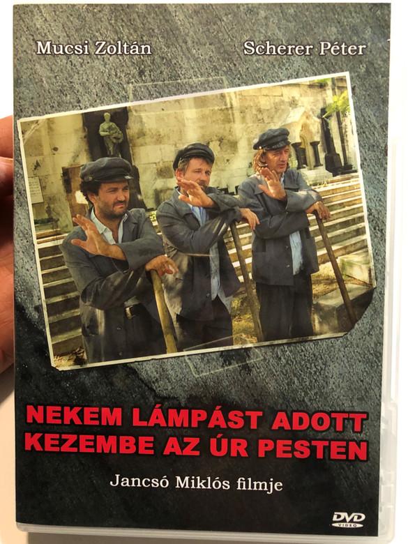 Nekem Lámpást Adott kezembe az Úr Pesten (1999) DVD The Lord's Lantern in Budapest / Directed by Jancsó Miklós / Starring: Mucsi Zoltán, Scherer Péter (5999882941448)