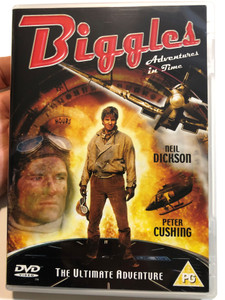 Biggles - Adventures in Time DVD 1988 The Ultimate adventure / Directed by John Hough / Starring: Neil Dickson, Alex Hyde-White, Fiona Hutchison, Peter Cushing (5014293145558)