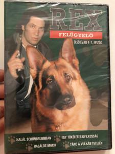 Komissar Rex (Rex felügyelő) DVD 2007 / Directed by Bodo Fürnesien / Starring: Tobias Moretti, Karl Markovich, Wolf Bachofner, Fritz Muliar / Season 1, Episodes 4-7 (5999546332131)