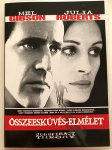 Conspiracy Theory DVD 1997 Összeesküvés-elmélet / Directed by Richard Donner / Starring: Mel Gibson, Julia Roberts (5996514004274)
