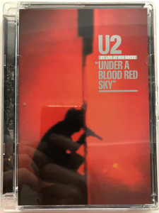 U2 live at red rocks DVD 2008 Under a blood red sky / Includes director's commentary / Twilight, Two hearts beat as one, October, Gloria, I will follow (602517649682)