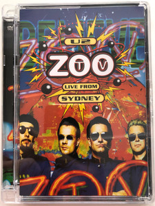 U2 Zoo TV DVD 2006 Live from Sydney / Filmed on 27th November 1993 at the Sydney Football Stadium, Sydney / Even better than the real thing, One, Pride, With or Without you (602517012882)