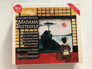 Giacomo Puccini - Madama Butterfly / Leontyne Price, Richard Tucker, Rosalina Elias, Piero de Palma, Philip Maero / RCA Italiana Opera Orchestra, Erich Leinsdorf / RCA Red Seal 2x Audio CD 1997 Stereo / 74321 39497 2