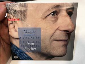Mahler – Symphony No. 9 / Iván Fischer, Budapest Festival Orchestra / Channel Classics Audio CD 2015 / CCS SA 36115