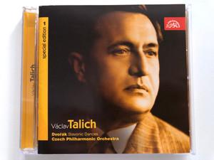 Václav Talich Special Edition 1 - Dvořák: Slavonic Dances / Czech Philharmonic Orchestra / Supraphon Audio CD 2005 Mono / SU 3821-2