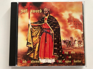Softsword (King John And The Magna Charter) - Rick Wakeman / President Records Audio CD 1994 / RWCD 24