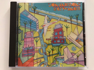 Jon Anderson – In The City Of Angels / CBS Audio CD 1988 Stereo / CBS 460693 2