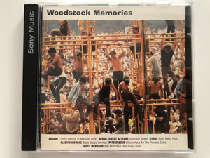 Woodstock Memories / Argent – I Don't Believe In Miracles (Live), Blood, Sweat And Tears - Spinning Wheel, Byrds - Eight Miles High, Fleetwood Mac - Black Magic Woman / Columbia Audio CD 1996 / 483517 2