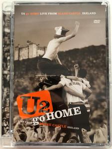 U2 - Go Home DVD 2001 Live from Slane Castle Ireland / Directed by Hamish Hamilton, Barry Devlin / Concert film, Unforgettable fire - documentary / Filmed on 1st September 2001 / Island Records (602498699218)
