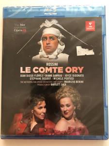 Rossini - Le Comte Ory Blu-Ray Disc The Metropolitan Opera Orchestra and Chorus / Directed by Gary Halvorson / Conducted by Maurizio Benini / Warner Classics - Erato (0825646054503)