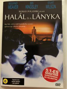 Death and the Maiden DVD 1994 Halál és a lányka / Directed by Roman Polanski / Starring: Sigourney Weaver, Ben Kingsley, Stuart Wilson (5999544560598)