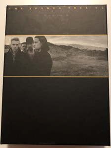 U2 - The Joshua Tree DVD 2007 / 2x CD + DVD / Box Set Limited Edition - 20th Anniversary Super Deluxe Edition / Mercury / DVD Containing Live Footage, Documentary and Rare Videos (602517509481)