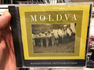 Moldva/ Hangfelvételek Néptáncoktatáshoz / Hagyományok Háza Audio CD 2008 / 5999882041575