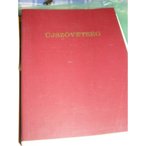 Ujszovetseg Hungarian New Testament [Paperback] by Csia Lajos