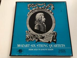 Mozart: Six String Quartets / Dedicated to Joseph Haydn / Bartók Quartet / Qualiton 3x LP Stereo / LPX 11400-02
