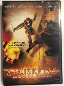 The Musketeer DVD 2001 A Muskétás - ahogyan még sohasem láttad! / Directed by Peter Hyams / Starring: Catherine Deneuve, Mena Suvari, Stephen Rea, Tim Roth, Justin Chambers (5999075601654)
