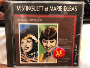 Mistinguett Et Marie Dubas / 20 Titres Originaux / Gosse De Paris, Ca c'est Paris, Prenez Mes Fleurettes..., Le Doux Caboulot... / CBS Audio CD 1989 / CBS 463397 2