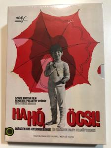 Hahó, öcsi! DVD 2019 Hi, Junior! Hungary / Rendező-Directed by: Palásthy György 1971 / Főszerepben-Starring: Krisztián Kovács, Manyi Kiss, Gábor Koncz / Family comedy movie (5999887816543)