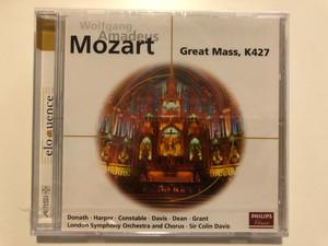 Wolfgang Amadeus Mozart - Great Mass, K427 / Donath, Harper, Constable, Davis Grant, London Symphony Orchestra and Chorus, Sir Colin Davis / Philips Classics Audio CD 1971 / 468 141-2