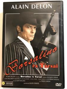 Borsalino and Co DVD 1974 Borsalino és társai / Directed by Jacques Deray / Starring: Alain Delon, Riccardo Cucciolla, René Kolldehoff, Catherine Rouvel (5999545561266)