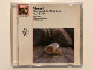 Mozart - Klavierkonzerte No. 20 KV 466 & No. 23 KV 488 / Annie Fischer, Philharmonia Orchestra, Sir Adrian Boult / Meisterwerk / EMI DRM Audio CD 1989 Stereo / CDZ 25 2121 2