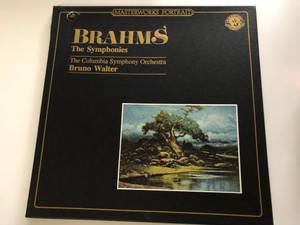 Brahms – The Symphonies / The Columbia Symphony Orchestra, Bruno Walter / CBS 3x LP / M3P 39631