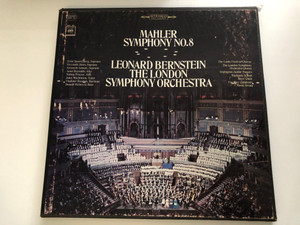 Mahler - Symphony No. 8 / Leonard Bernstein, The London Symphony Orchestra / Columbia Masterworks 2x LP Stereo / M2S 751