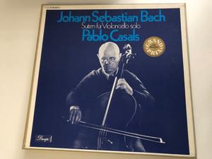 Johann Sebastian Bach: Pablo Casals – Suiten Für Violoncello Solo / Dacapo 3x LP / 1 C 147-00 892/4