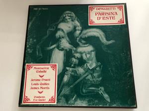 Donizetti - Parisina D'Este / Montserrat Caballé, Jerome Pruett, Louis Quilico, James Morris / Conductor: Eve Queler / MRF Records 3x LP 1974 / MRF-107-S