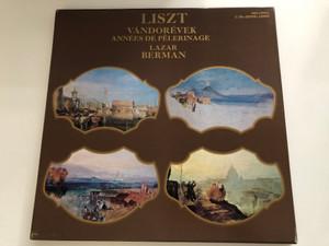 Liszt - Vándorévek, Années De Pèlerinage / Lazar Berman / Мелодия 4x LP Stereo / C 10-10995-11002