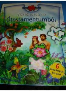 Hungarian Bible Stories from the Old Testament PUZZLE Book / Történetek az Ószövetségből