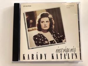 Karády Katalin - Nincs vége még / Qualiton Audio CD 1990 / HCD 16818 / Made in Hungary