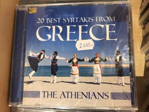 20 Best Syrtakis From Greece - The Athenians / ARC Music Audio CD 2019 / EUCD2839