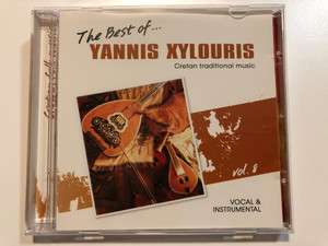 The Best Of... Yannis Xylouris Vol. 8 / - Creatin traditional music / Vocal & Instrumental / Σείστρον Audio CD / A.M.A. 208