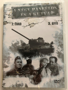A négy páncélos és a kutya 2 évad - 3. DVD 1966 Czterej pancerni i pies / Polish TV Series / Four Tank-Men and a Dog / Created by Konrad Nałęcki, Andrzej Czekalski / Starring : Janusz Gajos, Franciszek Pieczka / 3 episodes - Season 2 - Disc 3 (5996473003356)