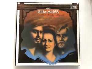 Verdi - Luisa Miller / Pavarotti, Caballé, Milnes, Giaiotti, Reynolds, Van Allan, Maag, National Philharmonic / Decca 3x LP Stereo / SET 606-8