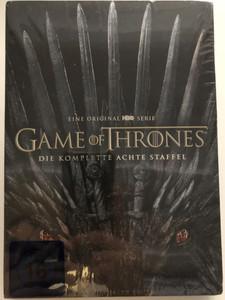 Game of Thrones - The Complete Season 8 DVD Box 4 Discs - German Edition / Created by David Benioff, D. B. Weiss / Written by George R. R. Martin / Starring: Sean Bean, Mark Addy, Nikolaj Coster-Waldau, Michelle Fairley, Lena Headey, Emilia Clarke (5051890319418)
