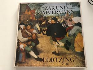 Zar Und Zimmermann - Lortzing / ETERNA 3x LP Stereo / 8 25 597 - 599
