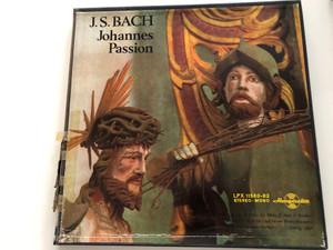 J.S. Bach – Johannes Passion / Hungaroton 3x LP Stereo, Mono / LPX 11580-82