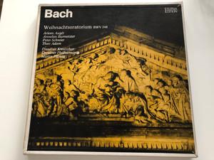 Bach - Weihnachtsoratorium BWV 248 / Arleen Augér, Annelis Burmeister, Peter Schreier, Theo Adam / Dresdner Kreuzchor, Dresdner Philharmonie, Martin Flämig / ETERNA Edition / ETERNA 3x LP Stereo / 8 25 084-087