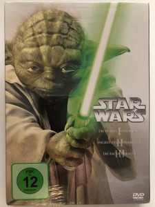Star Wars I-III 3DVD set 2013 / Enthält episodes I-III: Die dunkle bedrohung, Angriff der klonkrieger, Die rache der Sith / Contains Episodes I-III: The Phantom Menace, Attack of the Clones, Revenge of the Sith / 20th Century Fox (4010232061898)