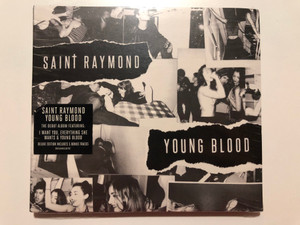 Saint Raymond – Young Blood / The Debut Album Featuring: I Want You, Everything She Wants & Young Blood / Deluxe Edition Includes 5 Bonus Tracks / Asylum Records Audio CD 2015 / 0825646110797