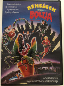 Little Shop of Horrors DVD 1986 Rémségek kicsiny boltja / Directed by- Rendező: Frank Oz / Starring-Főszereplők: Rick Moranis Ellen Greene Vincent Gardenia / The Geffen Company (5996514003079)